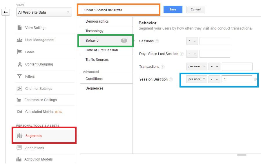 <00:00:01 Google Analytics Bot Traffic