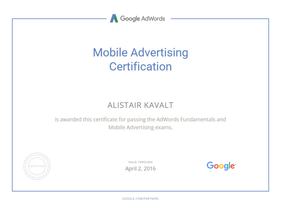 https://www.sycosure.com/wp-content/uploads/Alistair-Kavalts-Mobile-Advertising-Certification-959x712.jpg