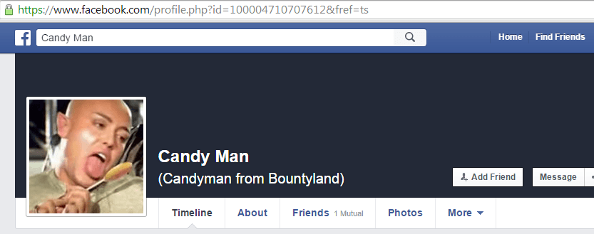 Candyman from Bountyland