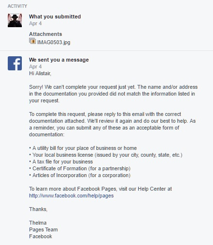 The Facebook Business Page Verification Process: What You Need To ...