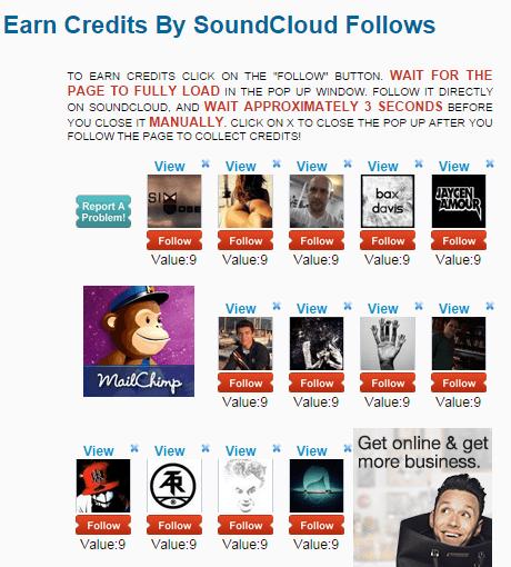 Like4Like SoundCloud Follower Credits