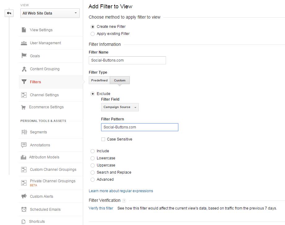 Social-Buttons.com referral filter