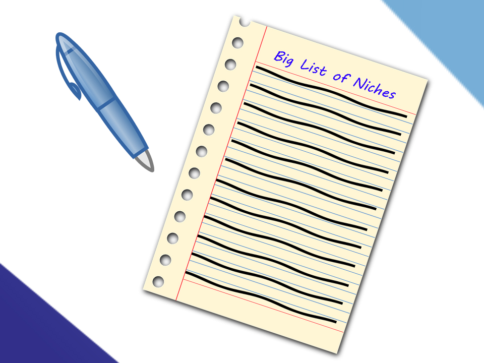 The Big List of Niches