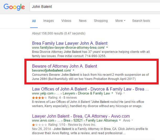 bad lawyer John Balent
